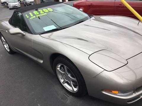 2001 Chevrolet Corvette for sale in Ridgeley, WV