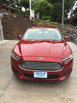 2015 Ford Fusion for sale in Ridgeley, WV