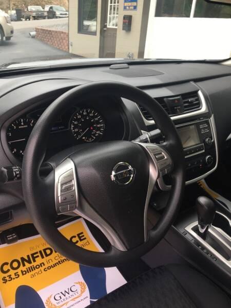 2018 Nissan Altima 2.5 S 4dr Sedan - Ridgeley WV