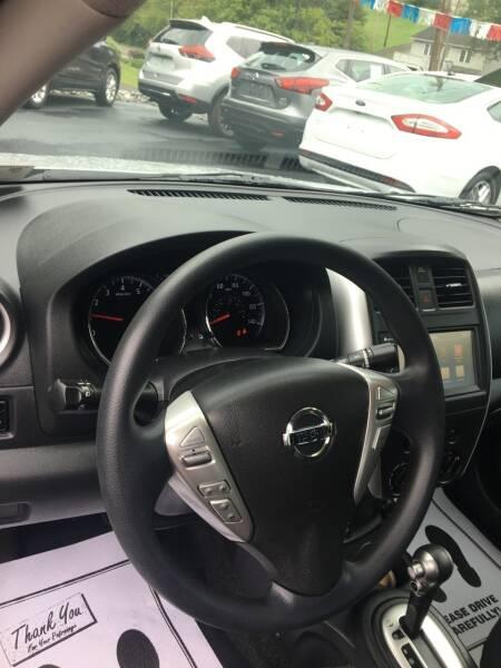 2019 Nissan Versa SV 4dr Sedan - Ridgeley WV