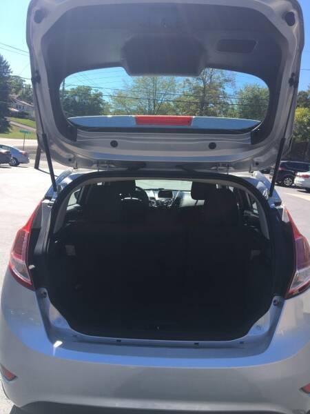2016 Ford Fiesta S 4dr Hatchback - Ridgeley WV