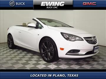 2016 Buick Cascada for sale in Plano, TX