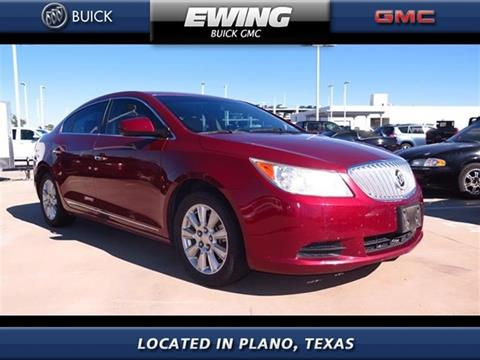 2010 Buick LaCrosse for sale in Plano, TX