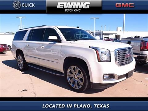 2015 GMC Yukon XL for sale in Plano, TX