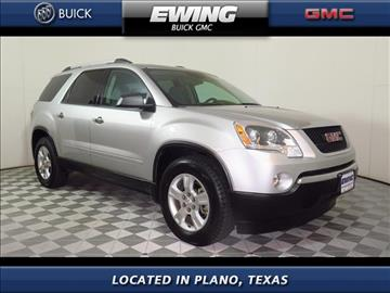 2012 GMC Acadia for sale in Plano, TX