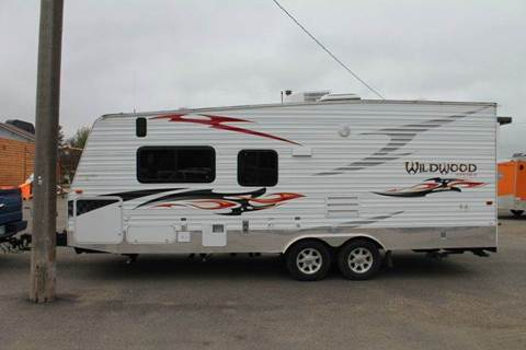 2012 Wildwood Toy Hauler for sale at LA MOTORSPORTS in Windom MN