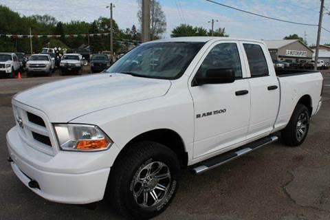 2012 RAM Ram Pickup 1500 for sale at LA MOTORSPORTS in Windom MN