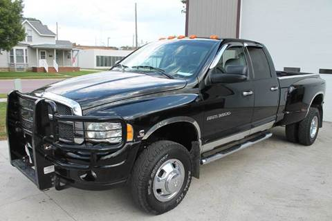 2005 Dodge Ram Pickup 3500 for sale at LA MOTORSPORTS in Windom MN
