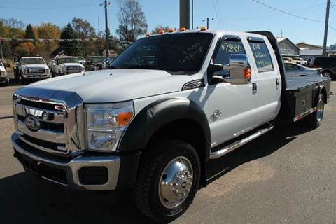 2012 Ford F-550 for sale at LA MOTORSPORTS in Windom MN