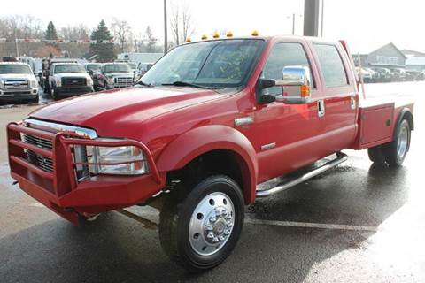 2005 Ford F-550 for sale at LA MOTORSPORTS in Windom MN