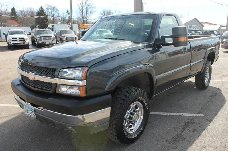2003 Chevrolet Silverado 2500HD for sale at LA MOTORSPORTS in Windom MN
