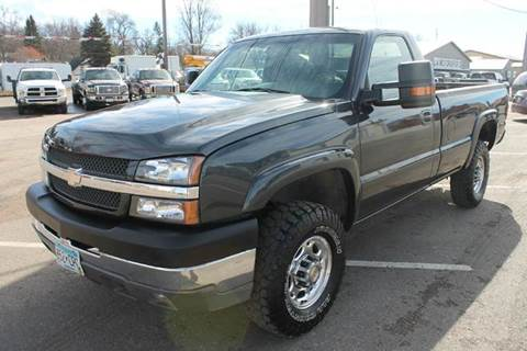 2003 Chevrolet Silverado 2500HD for sale at LA MOTORSPORTS in Windom MN