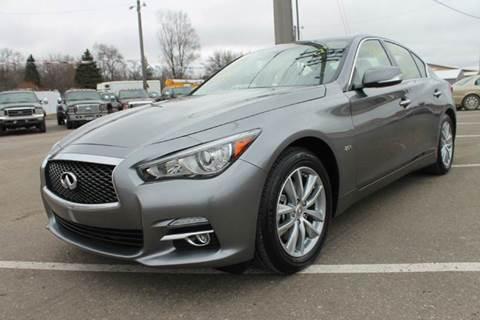 2016 Infiniti Q50 for sale at LA MOTORSPORTS in Windom MN