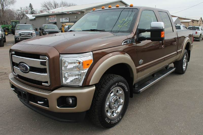 2012 ford f 350 super duty king ranch 4x4 4dr crew cab 6 8 ft sb srw pickup in windom mn la. Black Bedroom Furniture Sets. Home Design Ideas