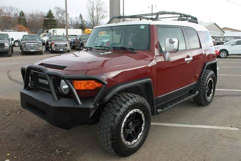 2008 Toyota FJ Cruiser for sale at LA MOTORSPORTS in Windom MN