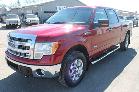 2014 Ford F-150 for sale at LA MOTORSPORTS in Windom MN
