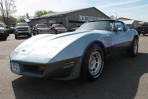 1982 Chevrolet Corvette for sale at LA MOTORSPORTS in Windom MN