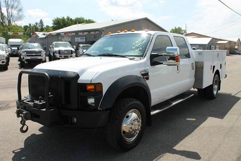 2009 Ford F-450 Super Duty for sale at LA MOTORSPORTS in Windom MN