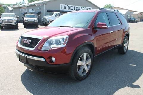 2010 GMC Acadia for sale at LA MOTORSPORTS in Windom MN