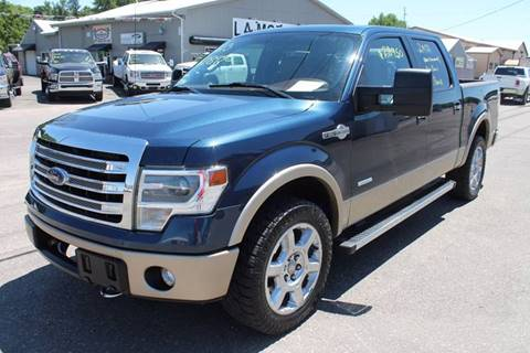 2013 Ford F-150 for sale at LA MOTORSPORTS in Windom MN