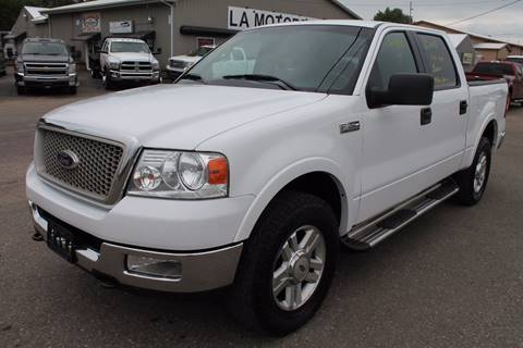 2004 Ford F-150 for sale at LA MOTORSPORTS in Windom MN