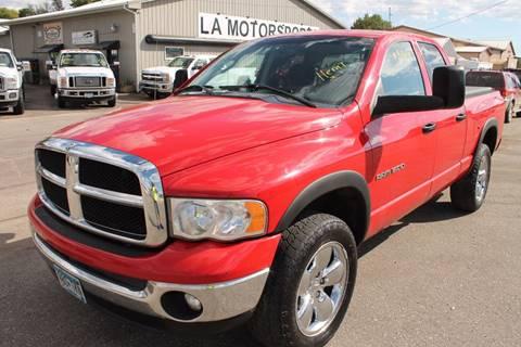 2005 Dodge Ram Pickup 1500 for sale at LA MOTORSPORTS in Windom MN