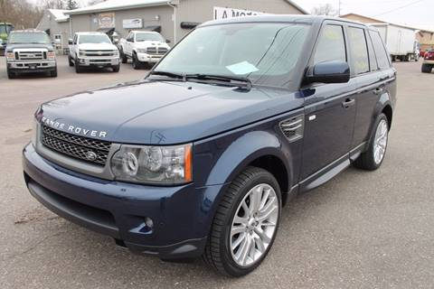 2011 Land Rover Range Rover Sport for sale at LA MOTORSPORTS in Windom MN