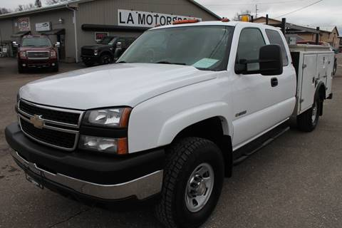 2007 Chevrolet Silverado 3500 for sale at LA MOTORSPORTS in Windom MN