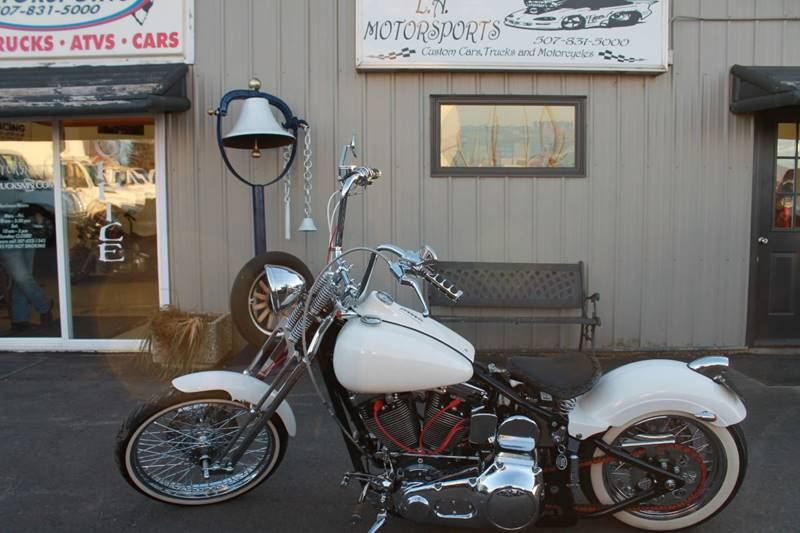 "2008 Harley-Davidson Springer 96"" OLD SCHOOL CUSTOM for sale at LA MOTORSPORTS in Windom MN"