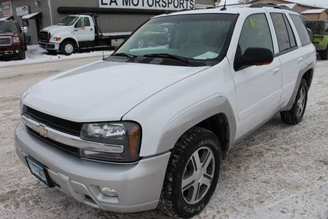 2005 Chevrolet TrailBlazer for sale at LA MOTORSPORTS in Windom MN