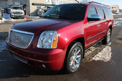 2011 GMC Yukon XL for sale at LA MOTORSPORTS in Windom MN