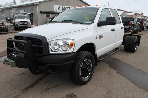 2008 Dodge Ram Chassis 3500 for sale at LA MOTORSPORTS in Windom MN
