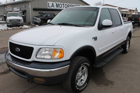 2001 Ford F-150 for sale at LA MOTORSPORTS in Windom MN