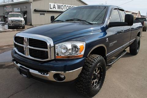 2006 Dodge Ram Pickup 2500 for sale at LA MOTORSPORTS in Windom MN
