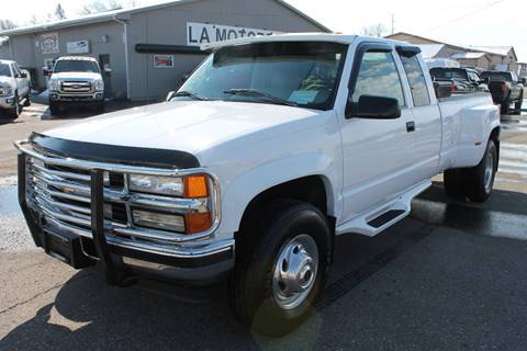 1996 Chevrolet C/K 3500 Series for sale at LA MOTORSPORTS in Windom MN