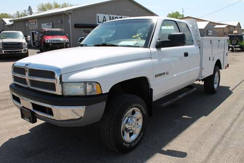 2002 Dodge Ram Pickup 2500 for sale at LA MOTORSPORTS in Windom MN