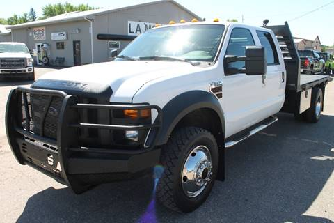 2009 Ford F-550 for sale at LA MOTORSPORTS in Windom MN