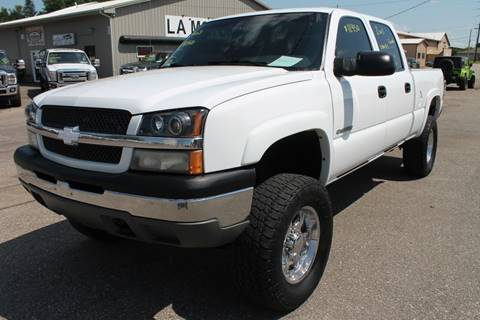2003 Chevrolet Silverado 1500HD for sale at LA MOTORSPORTS in Windom MN