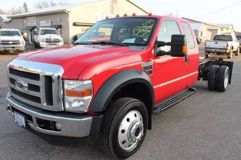 2008 Ford F-550 for sale at LA MOTORSPORTS in Windom MN