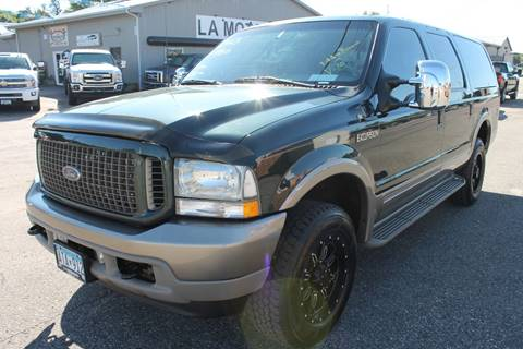 2003 Ford Excursion for sale at LA MOTORSPORTS in Windom MN