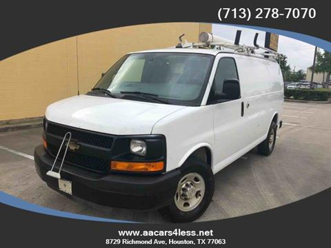 2013 Chevrolet Express Cargo for sale in Houston, TX