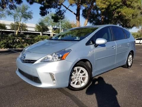 2012 Toyota Prius v for sale in Tempe, AZ
