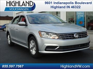 2017 Volkswagen Passat for sale in Highland, IN