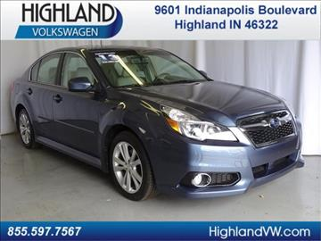 2013 Subaru Legacy for sale in Highland, IN