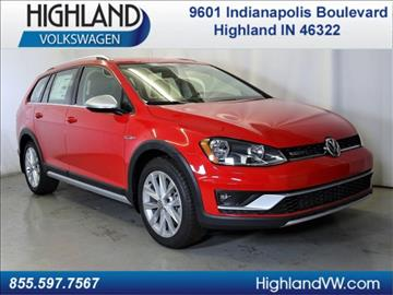 2017 Volkswagen Golf Alltrack for sale in Highland, IN