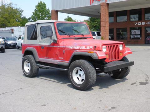 1992 Jeep Wrangler for sale in Summerville, GA
