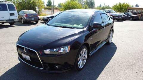 2012 Mitsubishi Lancer for sale at FLAGGS AUTO SOURCE in Mckenna WA
