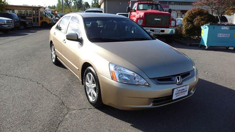 2004 Honda Accord for sale at FLAGGS AUTO SOURCE in Mckenna WA