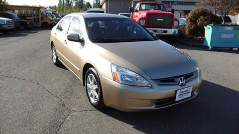 2004 Honda Accord for sale at FLAGGS AUTO SOURCE in Mckenna WA