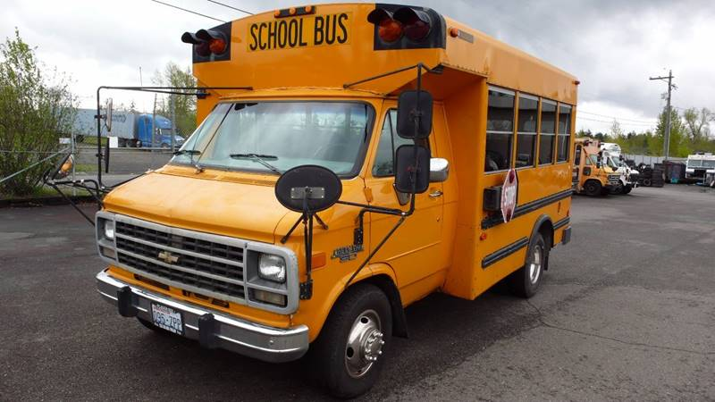 1995 Chevrolet G3500 Bus - Rainier WA